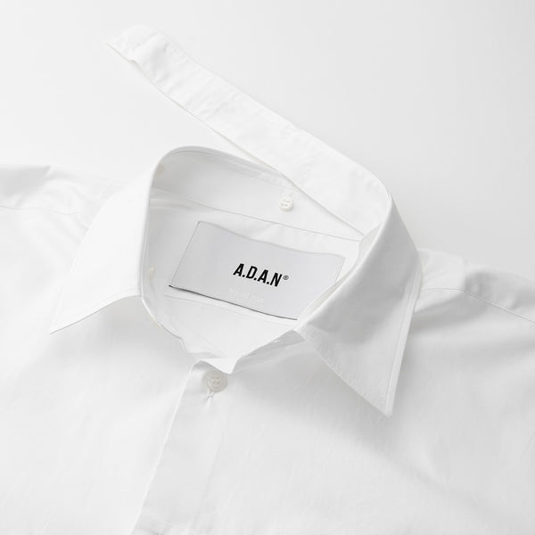 A.D.A.N / NTS SHIRT RELAX FIT / WHITE