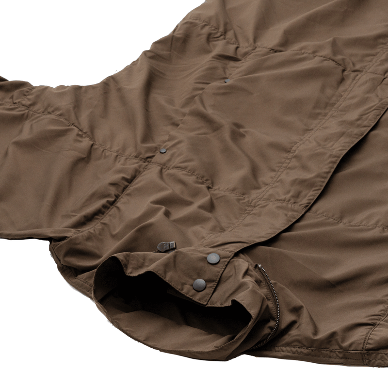 A.D.A.N / SPORTS TECH MODS COAT / BROWN