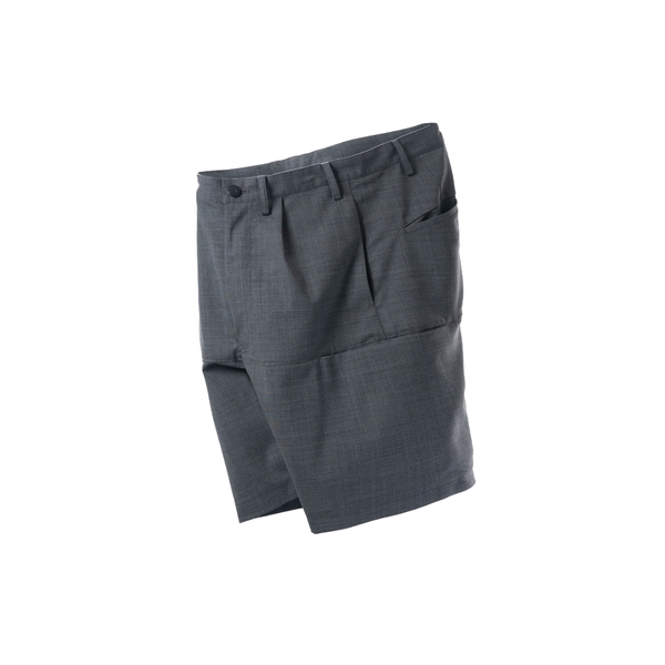 A.D.A.N / WORK SUIT SHORTS / GRAY