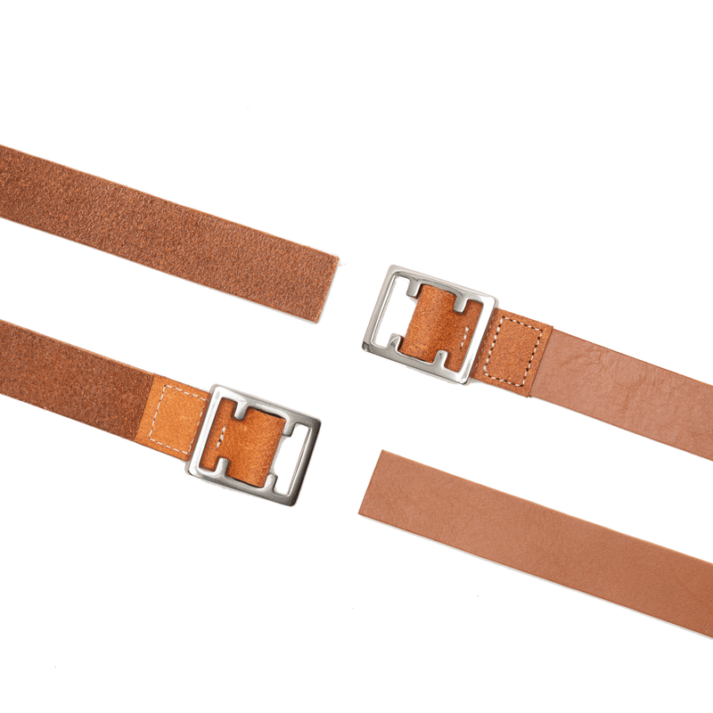 fit / REGULAR BELT  / BROWN