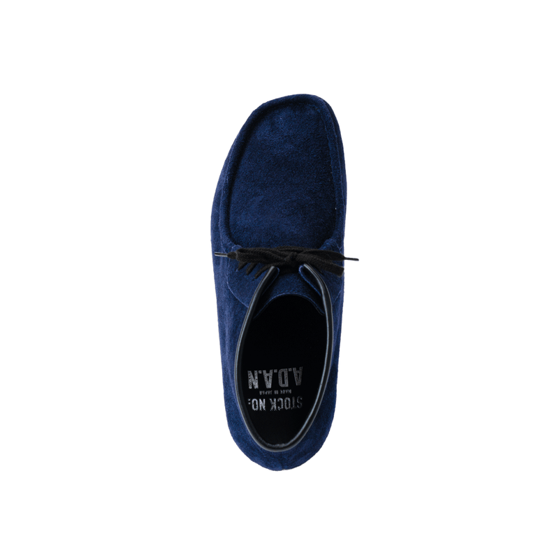 A.D.A.N × STOCK NO: / MOCCASIN BOOTS /NAVY
