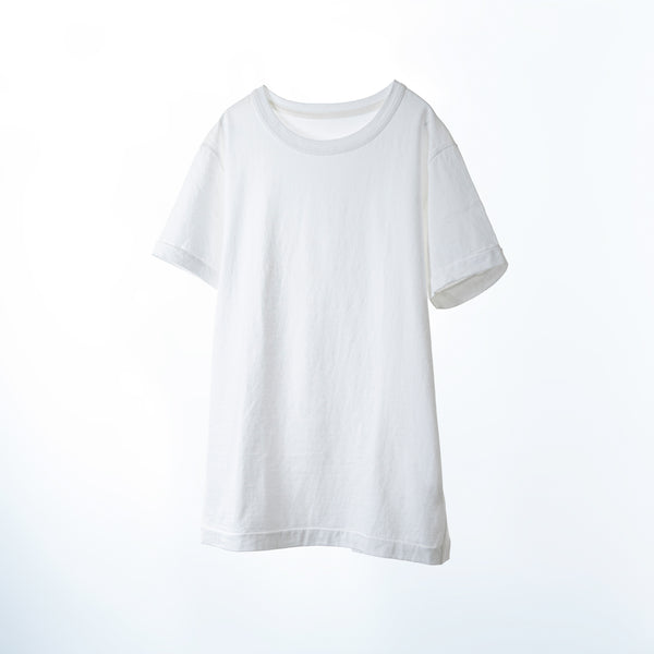 fit / CREW NECK S/S T-SHIRTS / WHITE
