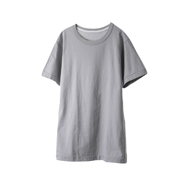 fit / CREW NECK S/S T-SHIRTS / GRAY