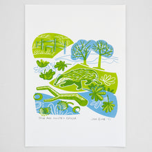 "Load image into Gallery viewer, Set of all three ""Town and Country"" hand pulled screen prints"