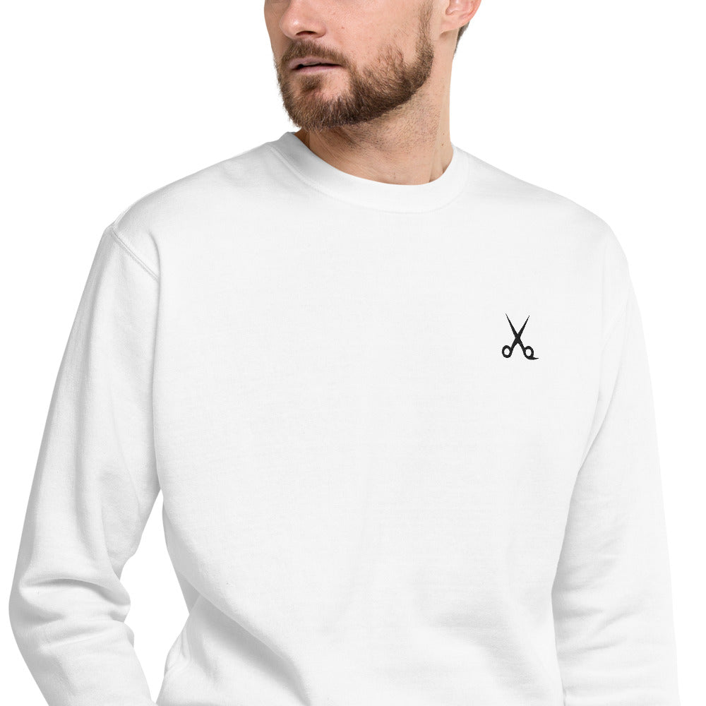 SHEARS Scissors Unisex Fleece Pullover