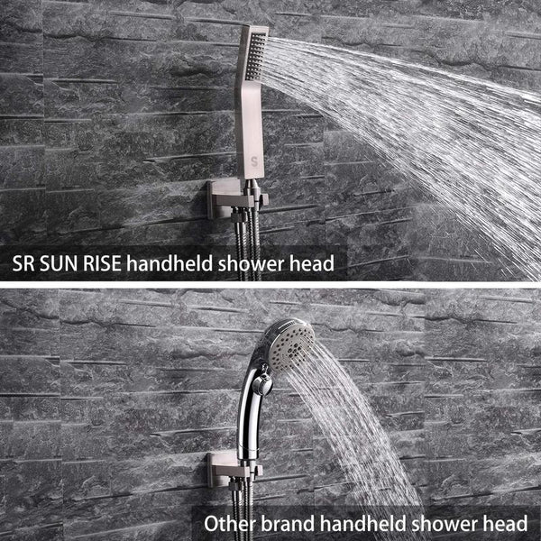 Difference between SR Sunrise's showerhead and the other brands