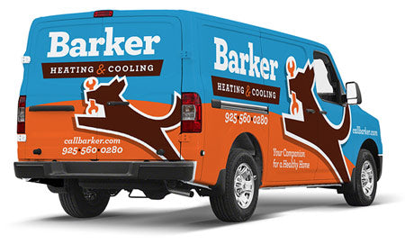 Barker Heating & Air Conditioning installation & replacement in Livermore, Freemont and Pleasanton, CA