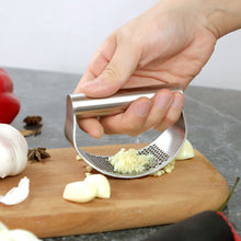 Load image into Gallery viewer, Stainless Steel Garlic Press