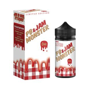 Strawberry - PB & Jam Monster | Limited Edition | E-Liquid Australia