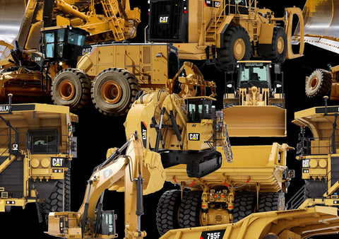 CATerpillar BIG Machines
