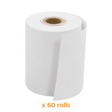 Thermal Paper Roll | 57x45 mm (60 Rolls) - Bargain POS