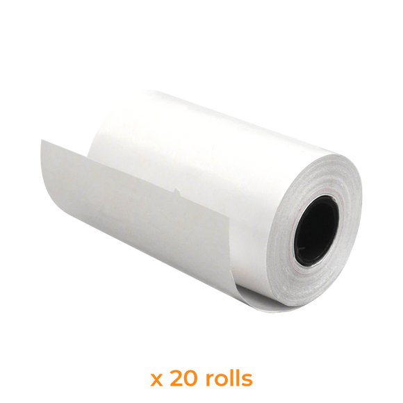 Thermal Paper Roll | 57x35 mm (20 Rolls) - Bargain POS