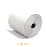 Thermal Paper Roll | 80x80 mm (50 Rolls) - Bargain POS