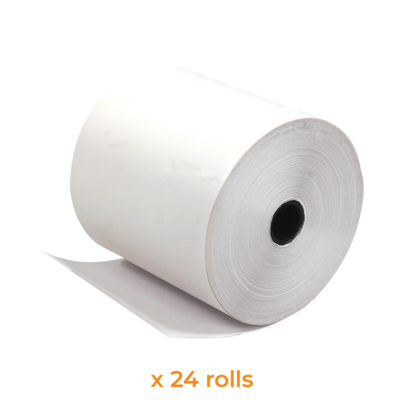 Paper Roll Supplies | 80x80 mm (24 Rolls) - Bargain POS