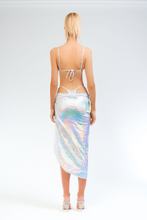 Load image into Gallery viewer, Illusions Halo Tie Skirt - Sahara Ray Swim