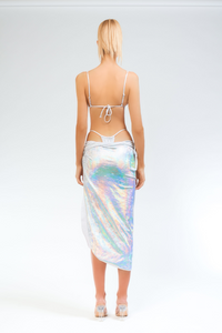 Illusions Halo Tie Skirt - Sahara Ray Swim