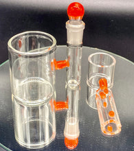 Load image into Gallery viewer, Solid State Concepts Orange Dab Set - TheSmokeyMcPotz Collection