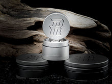 Load image into Gallery viewer, Mini Portable Herb Grinder 4 Piece – 100% Stainless Steel w- Hybrid Plate - TheSmokeyMcPotz Collection