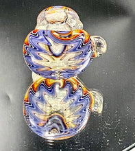 Load image into Gallery viewer, Global Glassworks Heady AF UV Spoon Purple-Orange - TheSmokeyMcPotz Collection