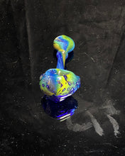 Load image into Gallery viewer, Fearn Gully Bubbletrap Fumed Honeycomb Spoon #2 - TheSmokeyMcPotz Collection
