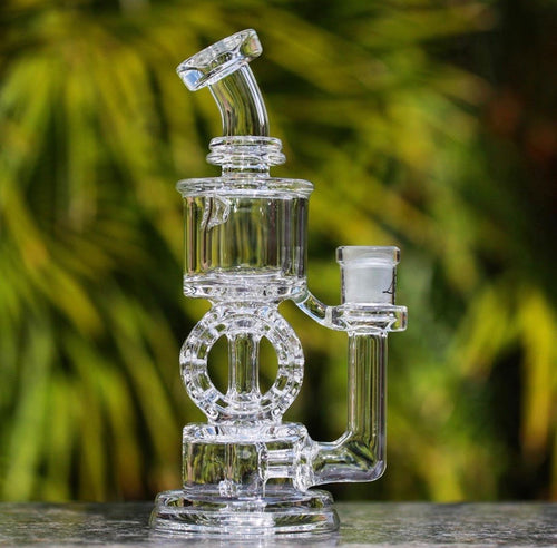 Swiss Donut Incycler 14mm - TheSmokeyMcPotz Collection