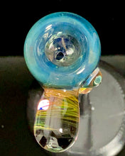 Load image into Gallery viewer, B $ Glass Lost Silver City 14mm Sawbucks Slide - TheSmokeyMcPotz Collection