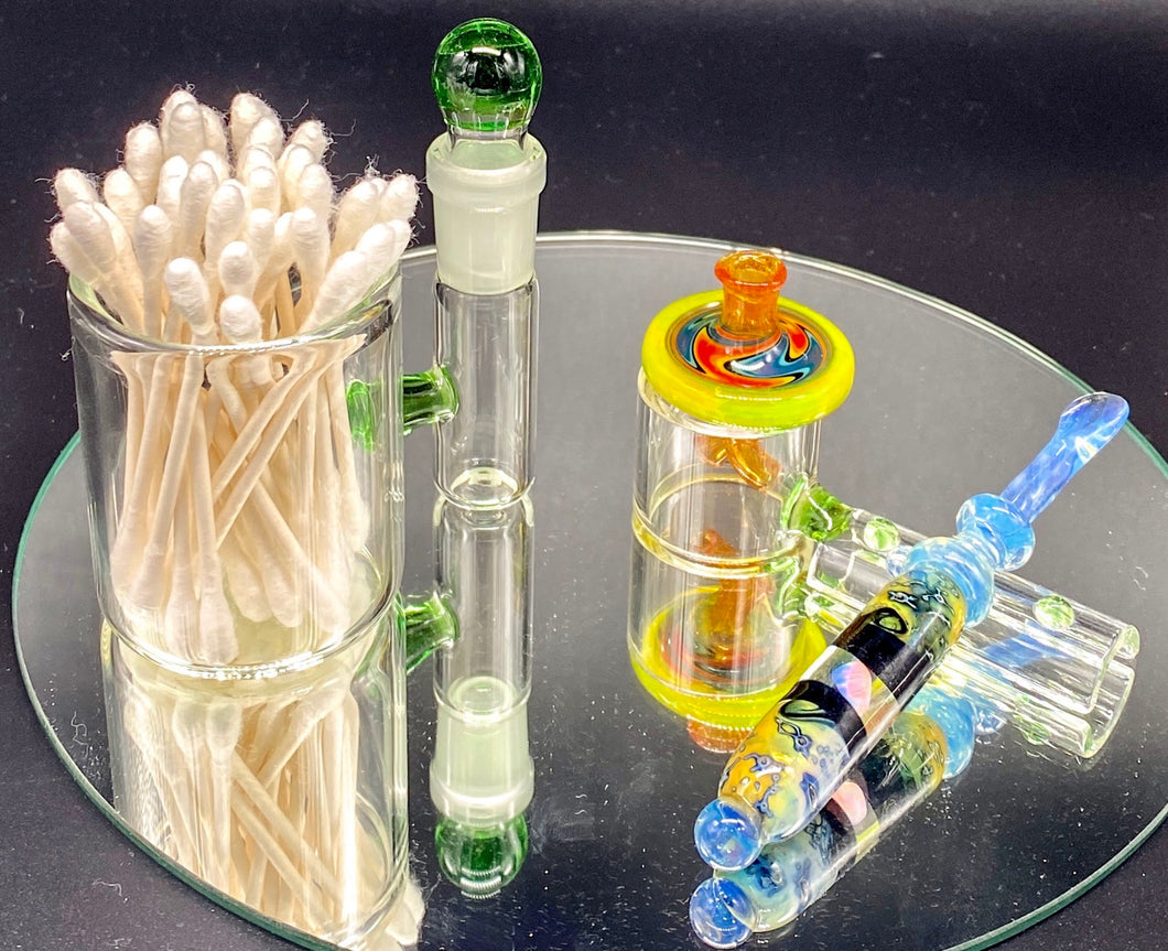 Solid State Concepts Green Dab Set - TheSmokeyMcPotz Collection