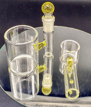 Load image into Gallery viewer, Solid State Concepts CFL Serum (Yellow to Pink) Dab Set - TheSmokeyMcPotz Collection