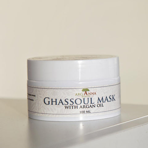 Ghassoul Mask with Argan Oil - Arganna Beauty