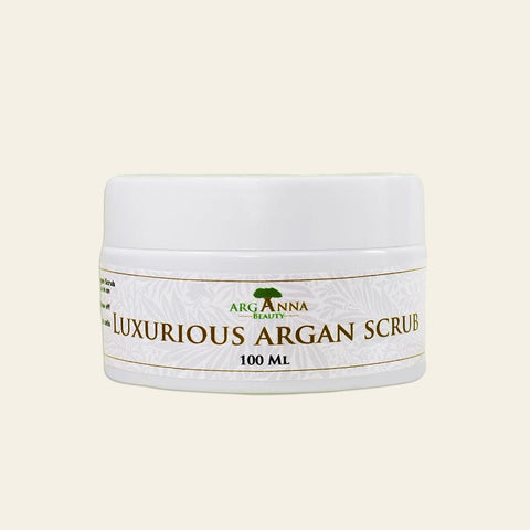 Luxurious Agran Scrub, Natural Body Scrub - Arganna Beauty