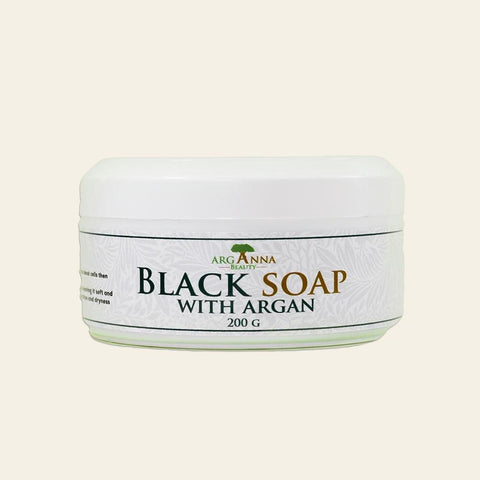 Pack Hamam(Argan Black Soap+Exfoliating Glove) - Arganna Beauty