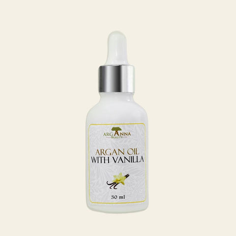 Scented Argan Oil With Vanilla, Orange Blossom, Jasmine 100% Organic, Pressed Moroccan Argan Oil - Arganna Beauty