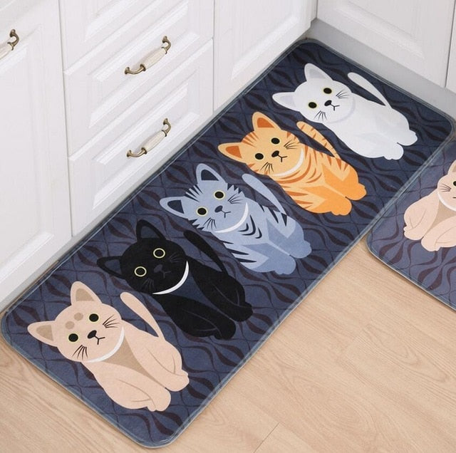 Cat Printed Doormats
