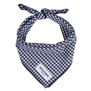 Navy Gingham (Small Print)