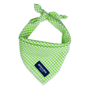 Lime Gingham (Small Print)