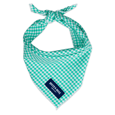 Green Gingham (Small Print)