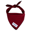 Red & Black Gingham (Small Print)