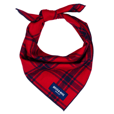 Red & Navy Flannel