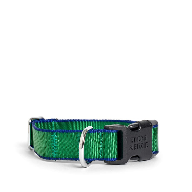 Green & Navy Collar