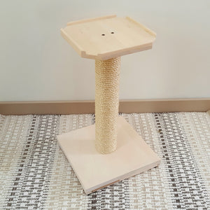 Small Cat Tree - 25 Inch Scratching Post & Perch