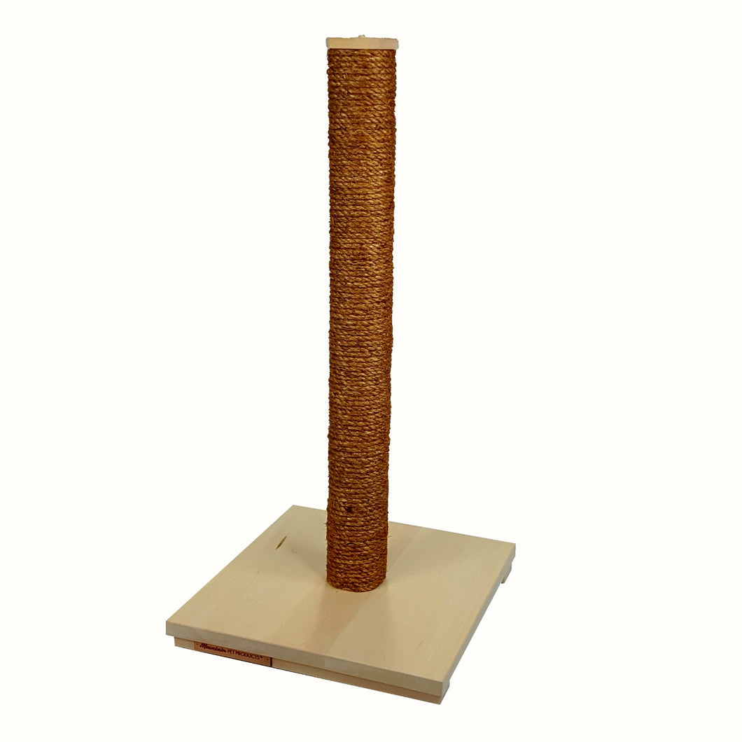 Extra Tall Vertical Scratching Post with Manila Rope