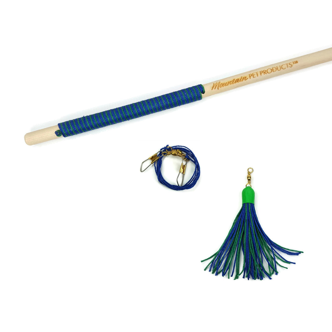 16 Inch Tassel Teaser Interactive Cat Toy