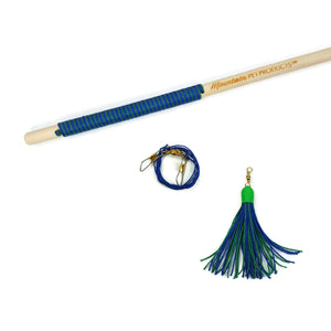 Tassel Teaser Interactive Wand Toy - 32 Inch