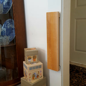 Wall Mounted Wood Scratcher - No Tools Installation