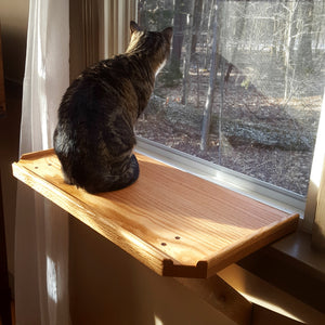 Cat Window Perch - Cat Shelf - Cat Bed