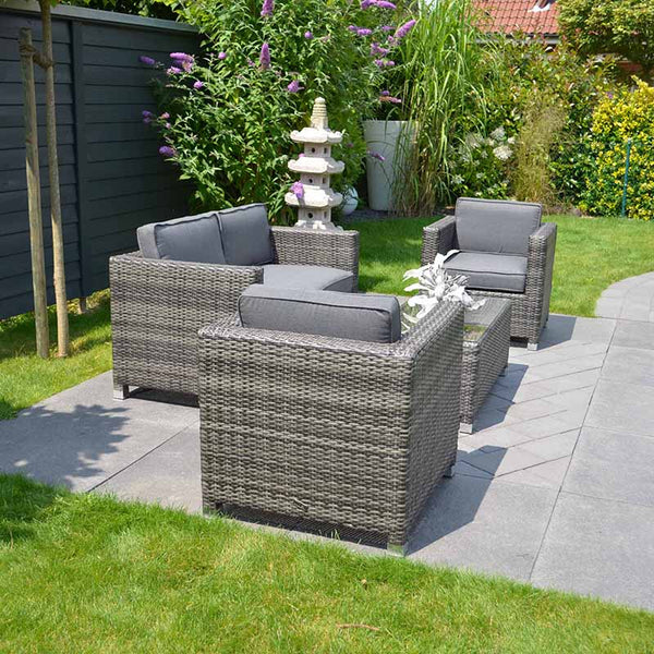 Amelia 4-seater in Grey
