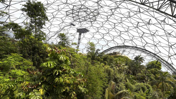 THE EDEN PROJECT- CORNWALL, ENGLAND