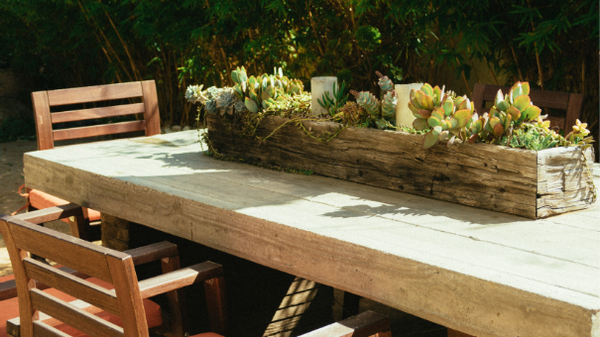 SUMMER-TIME STYLE FOR YOUR PATIO