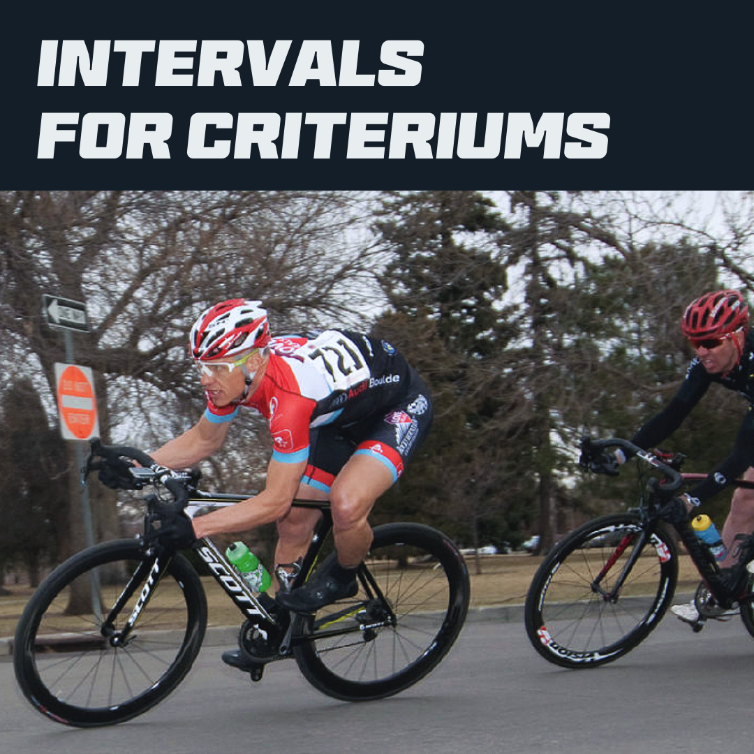 Intervals for Criteriums