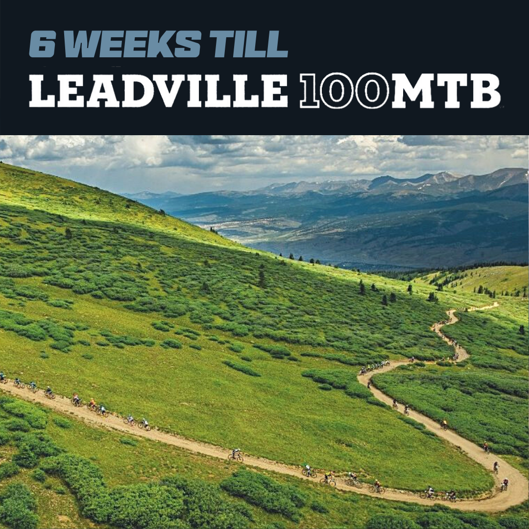 leadville 100 mtb training plan